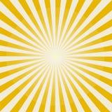 Картина Sunburst Солнця также вектор иллюстрации притяжки corel Стоковая Фотография RF
