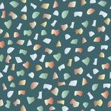 Картина Terrazzo безшовная Идеал картины для упаковочной бумаги, обоев, настила terrazzo иллюстрация штока