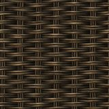 Картина Weave безшовной корзины растра деревянная Стоковая Фотография RF