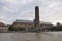 Картинная галлерея современного искусства Tate в Лондоне, Англии Стоковое Изображение RF