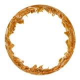 Картинная рамка арахисового масла круглая Стоковые Изображения