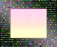 Картинная рамка диско стоковая фотография rf
