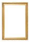 Картинная рамка золота Стоковые Фото