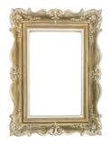 Картинная рамка золота Стоковое Изображение RF