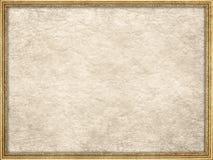 Картинная рамка и скомканная бумага Стоковые Изображения RF