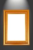 Картинная рамка на черной предпосылке Стоковое Изображение RF