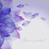 Картины акварели флористические круглые Стоковое Фото
