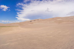 Картины ветра в песке Стоковые Фото