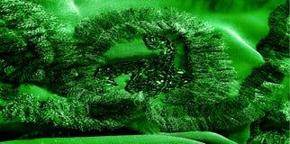 Картины Зеленый Освободитесь, но изгибчивый, потому что оно имеет более светлое Вэй Стоковые Изображения