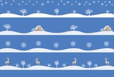 Картины зимы Стоковая Фотография RF
