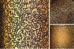 картины золота Стоковые Фотографии RF