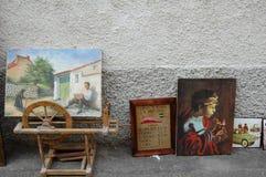 Картины и антиквариаты стоковые фото
