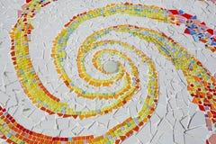 Картины и цвета керамической плитки Стоковые Фото