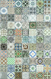 Картины керамических плиток от Португалии Стоковое фото RF