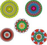 Картины круги Стоковые Фотографии RF