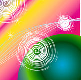 Картины круги Стоковые Фото