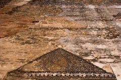 Картины наследия стены черно-белые Стоковая Фотография RF