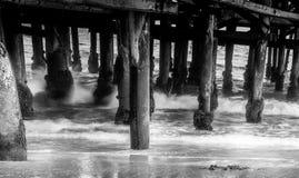 Картины на пляже Стоковое Изображение