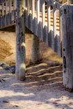 Картины на пляже Стоковая Фотография