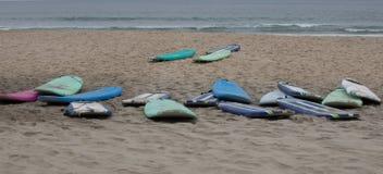 Картины на пляже Стоковое фото RF