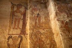 Картины на стене, Эфиопии Стоковые Фотографии RF