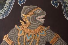 Картины на Wat Phra Kaew Стоковые Фото