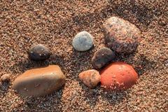 Картины пляжа Стоковые Изображения