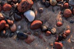 Картины пляжа Стоковые Фотографии RF