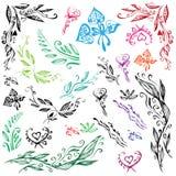 Картины различных форм и цветов Стоковая Фотография RF