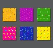 Картины с графическими элементами Стоковая Фотография RF