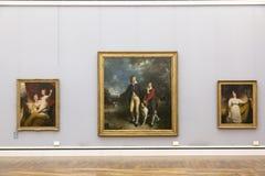 Картины Томаса Лоренса в Neu Pinakothek в Мюнхене Стоковое фото RF