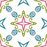 Картины универсалии года сбора винограда различные безшовные восточные (tiling) Стоковая Фотография RF