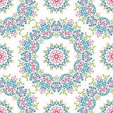 Картины универсалии года сбора винограда различные безшовные восточные (tiling) Стоковые Фото