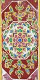 Картины цветка на керамическом Стоковое Фото