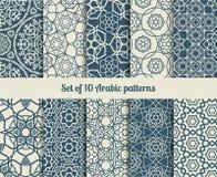 Картины arabic вектора Стоковые Изображения