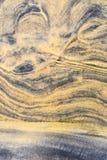 Картины, gouges в песчанных дюнах, пазы и остров Стоковое Изображение RF