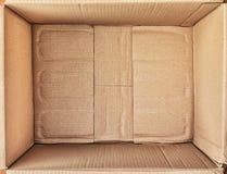 Картонная коробка для вещей Стоковые Изображения RF