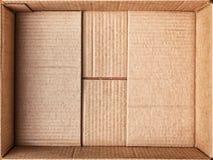 Картонная коробка для вещей Стоковые Фотографии RF
