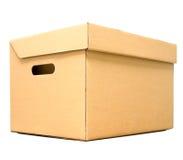 Картонная коробка для объекта пакета Стоковая Фотография