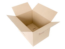 Картонная коробка Стоковая Фотография