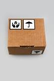 Картонная коробка Стоковое Изображение