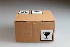 Картонная коробка Стоковое Изображение RF