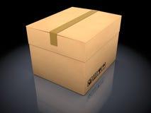 Картонная коробка Стоковое Фото