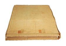 Картонная коробка Grunged Стоковые Фото