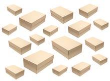 Картонные коробки Стоковое Изображение