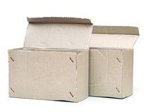 Картонные коробки Стоковые Изображения