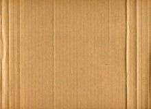 картон гофрировал Стоковое фото RF