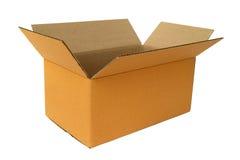 картон коробки коричневый Стоковые Изображения RF
