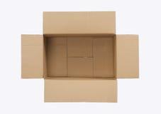 картон коробки пустой Стоковое Фото