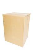 картон коробки пустой Стоковые Изображения